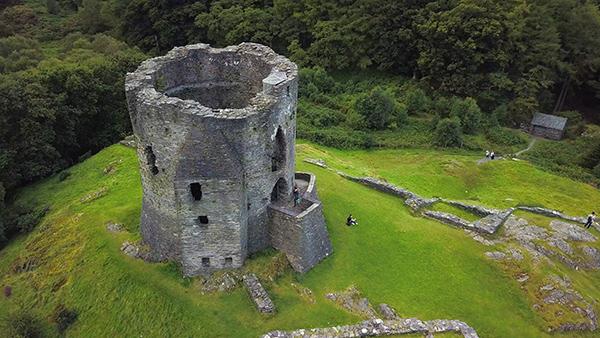 Dolbadarn Castle, Wales